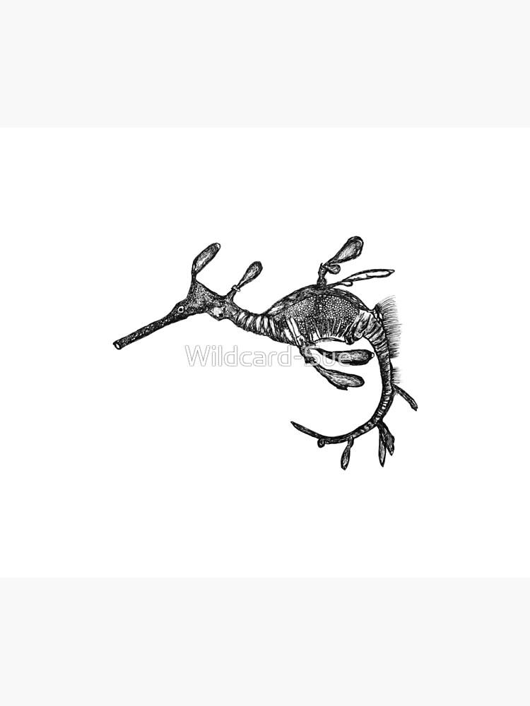 Pee-Jay the Baby Weedy Sea Dragon  by Wildcard-Sue