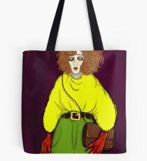 Girl with Handbag Tote Bag