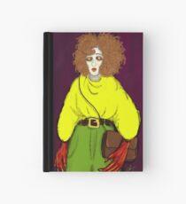 Girl with Handbag Hardcover Journal