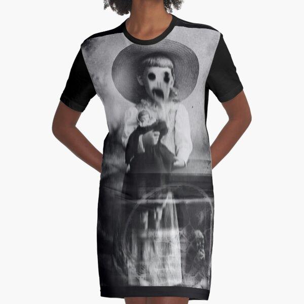 VENTRILOQUIST Graphic T-Shirt Dress