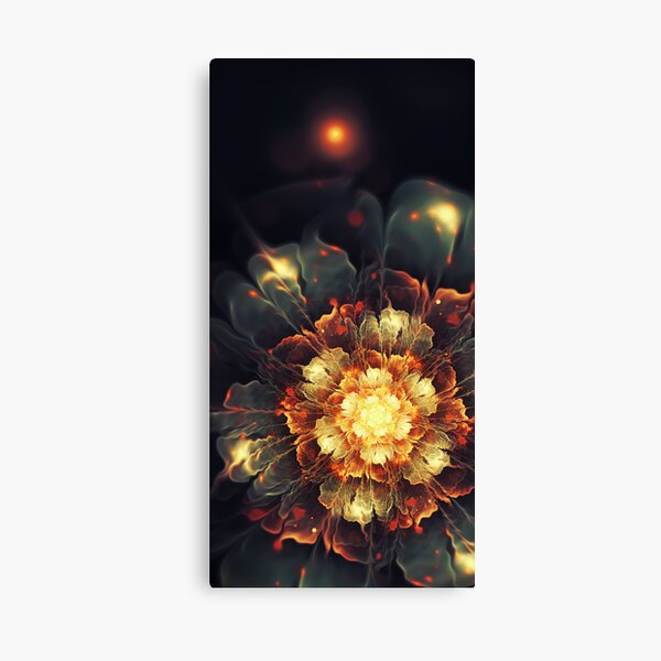 Blooming Heat Canvas Print