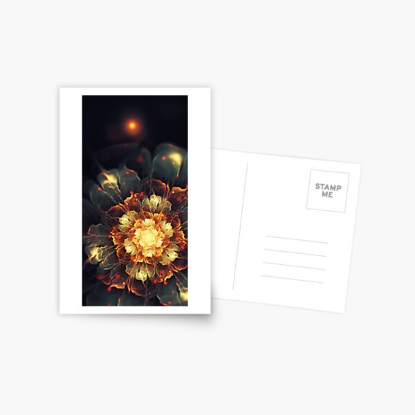 Blooming Heat Postcard