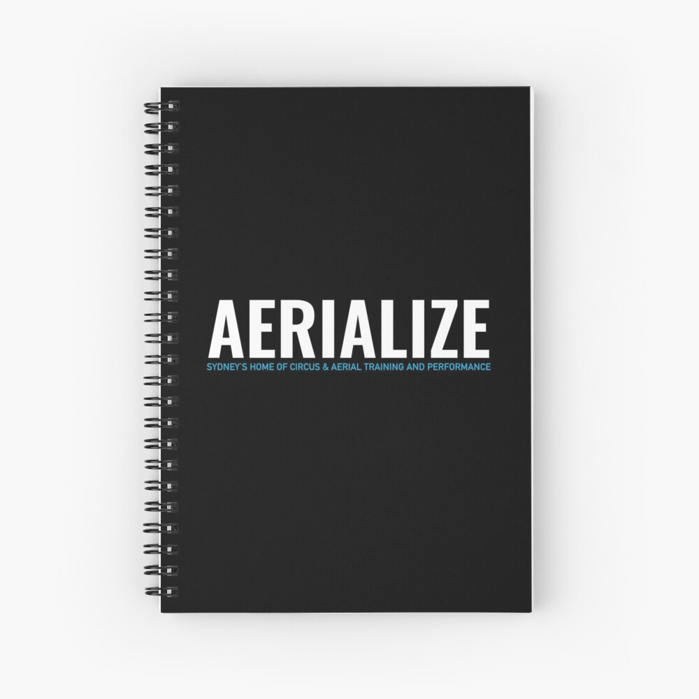 Aerialize Merchandise Spiral Notebook