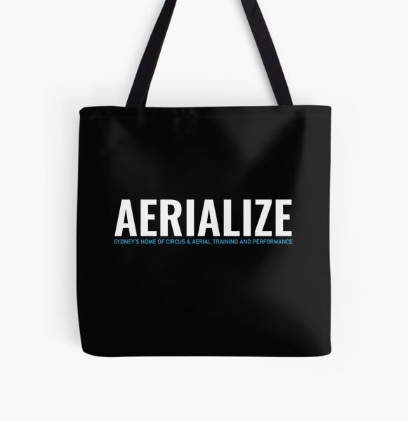 Aerialize Merchandise All Over Print Tote Bag