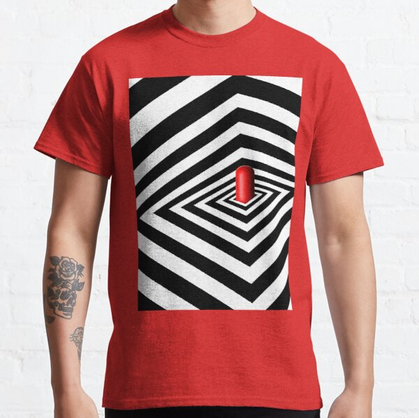 A Round Peg in a Square Hole Classic T-Shirt