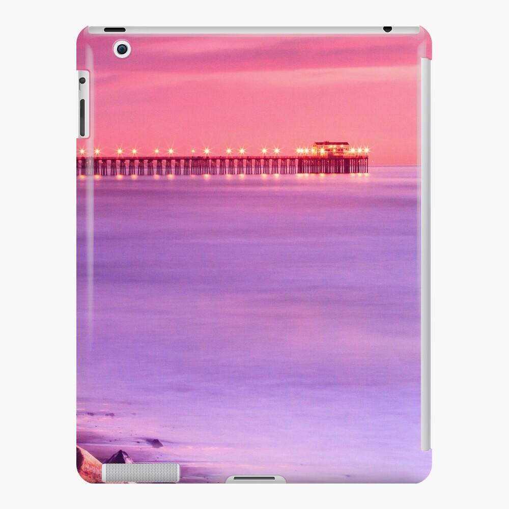 Sunset at Oceanside Pier Funda y vinilo para iPad