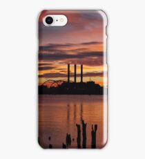 PVD Sunset w/ Smoke Stacks iPhone Case/Skin