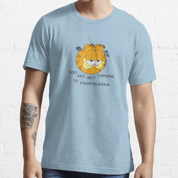 you are not immune to propaganda - garfield Essential T-Shirt