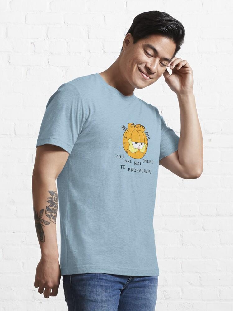 Alternate view of you are not immune to propaganda - garfield Essential T-Shirt