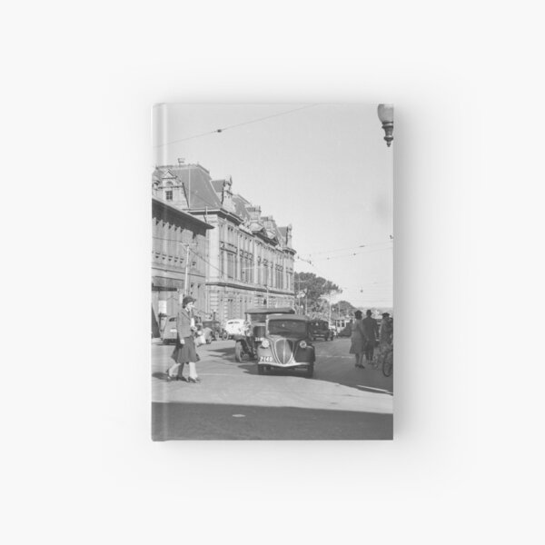 Barrack St south, Perth, 1941, State Library of Western Australia Hardcover Journal