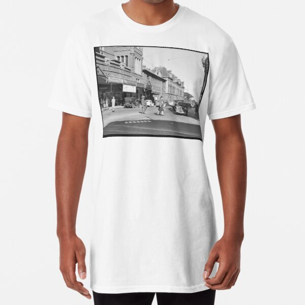 Barrack St south, Perth, 1941, State Library of Western Australia Long T-Shirt