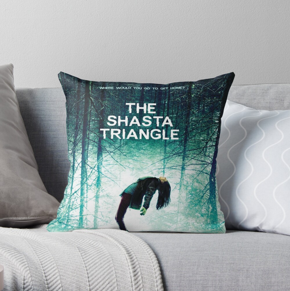 Shasta Triangle Poster Merch! Throw Pillow