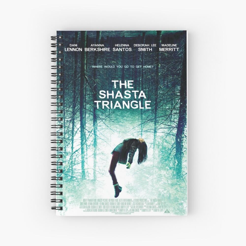 Shasta Triangle Poster Merch! Spiral Notebook
