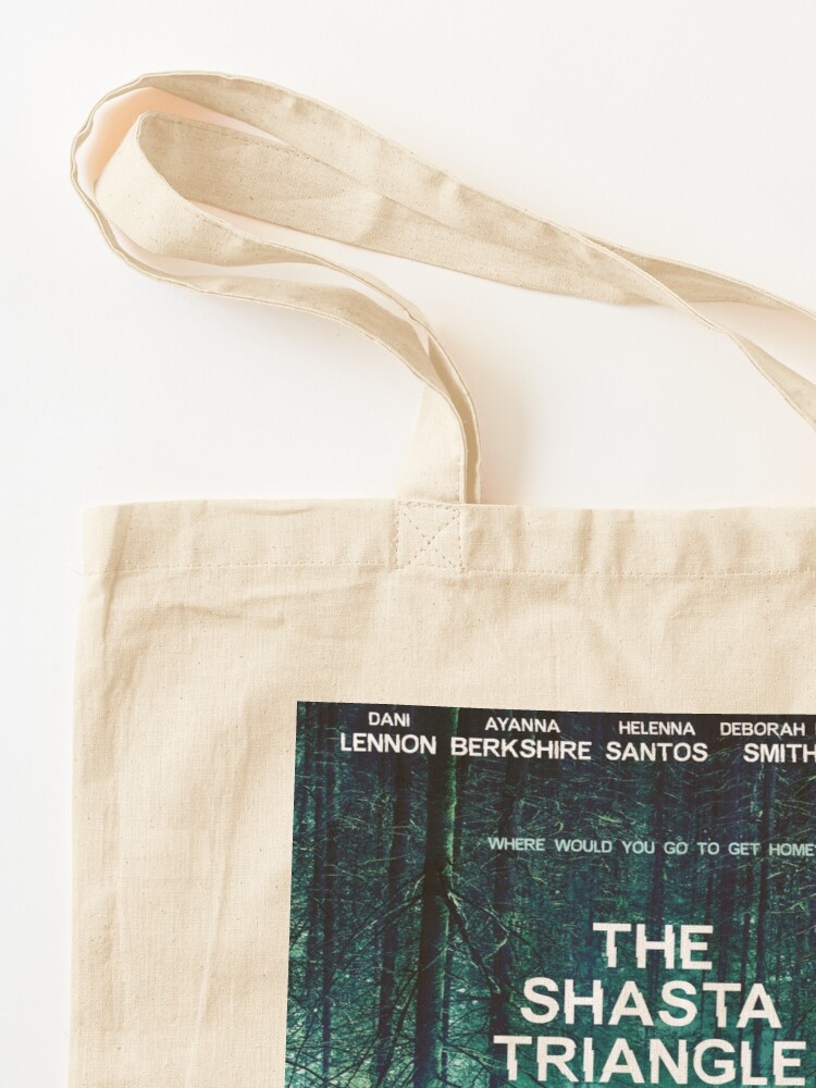 Alternate view of Shasta Triangle Poster Merch! Tote Bag
