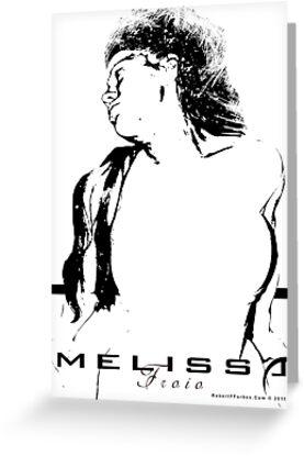 Melissa Froio by celebrityart
