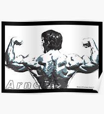 Arnold Schwarzenegger - Double Rear Biceps Poster