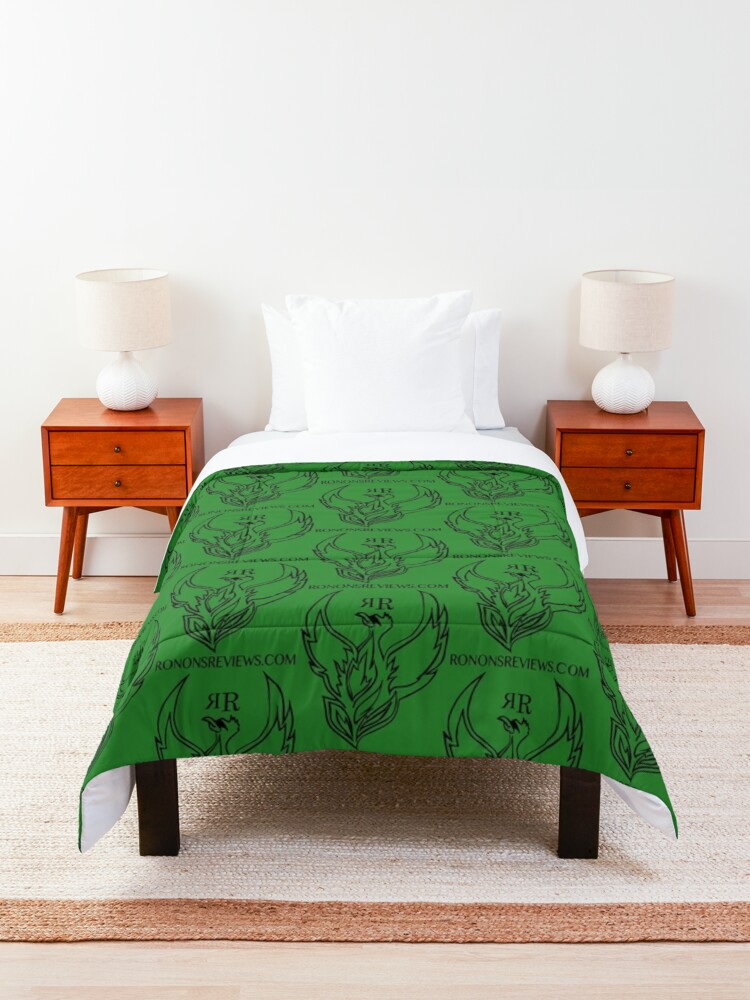 Alternate view of Ronon's Reviews Official Merch Comforter