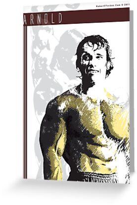 Arnold Schwarzenegger - Relaxed by celebrityart