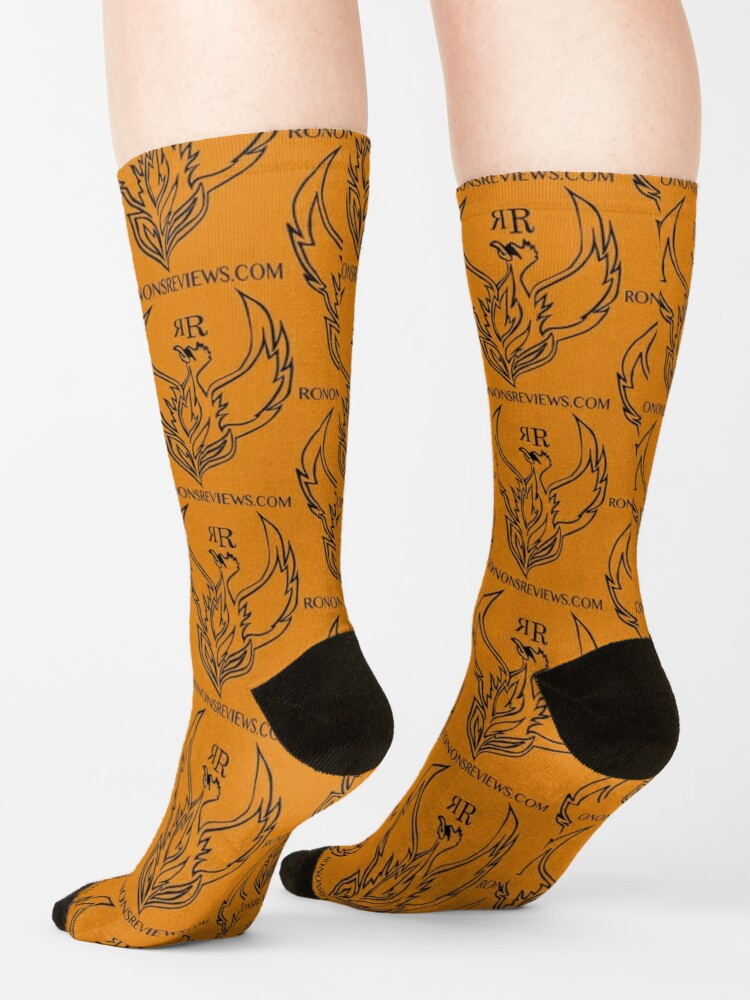 Alternate view of Ronon's Reviews Official Merch Socks