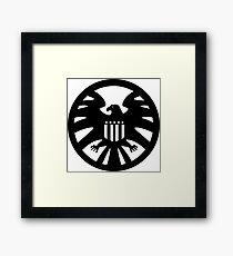 S.H.I.E.L.D. seal Framed Print