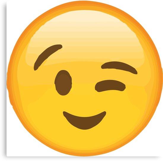 ウィンキー顔の顔文字
