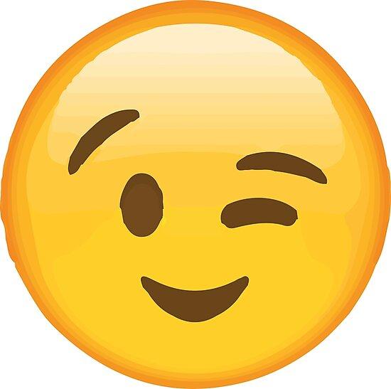 Afbeeldingsresultaat voor winky face emoji