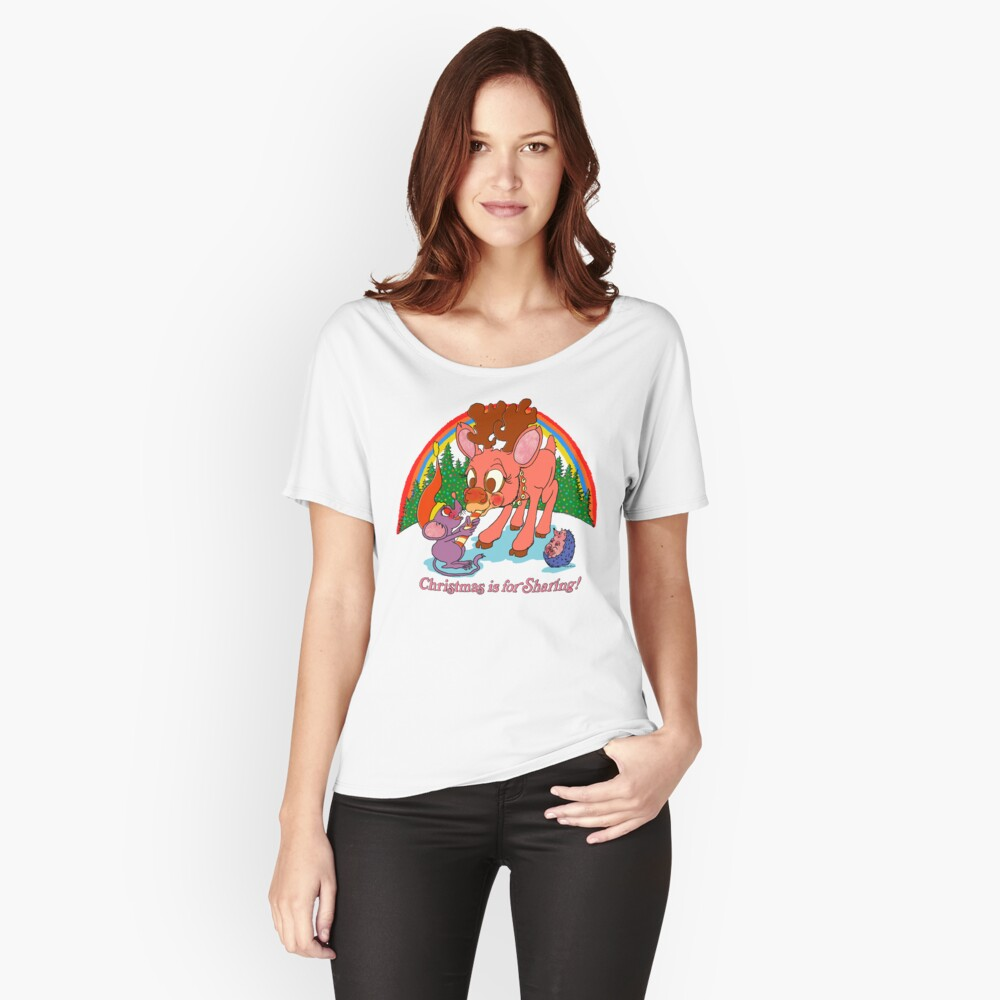 Christmas is for Sharing Relaxed Fit T-Shirt