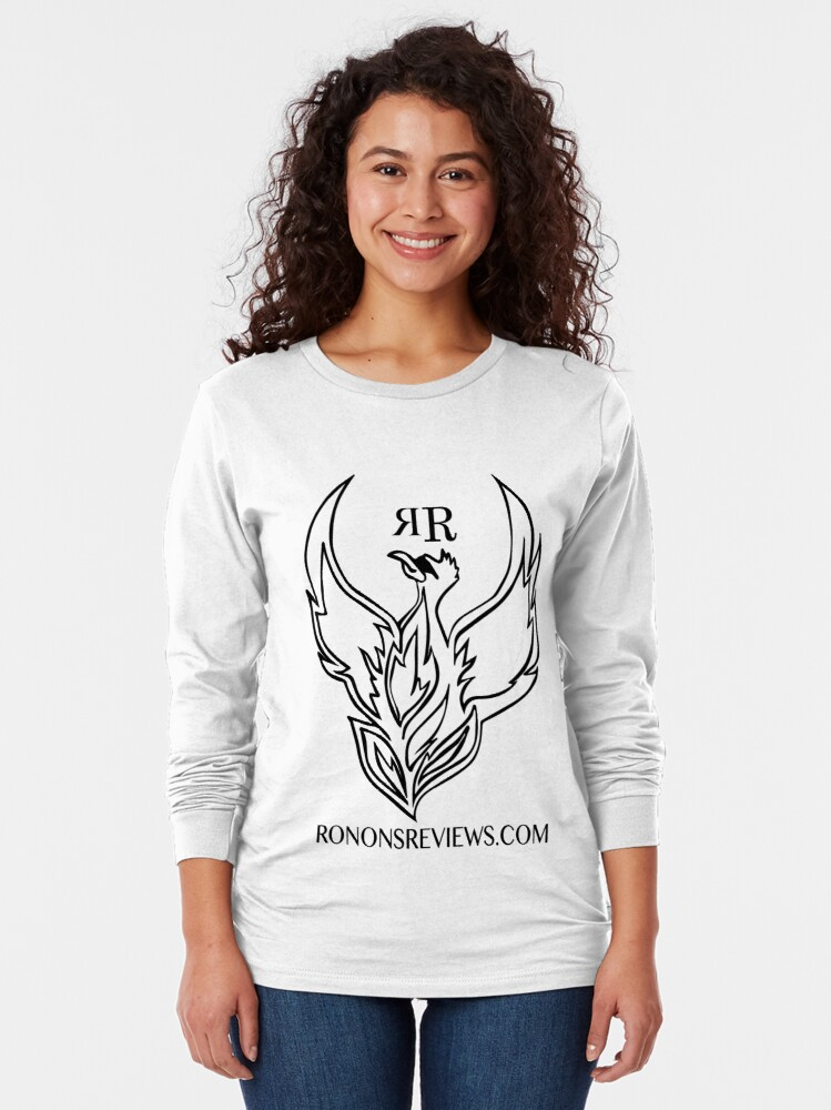Alternate view of Ronon's Reviews Official Merch Long Sleeve T-Shirt
