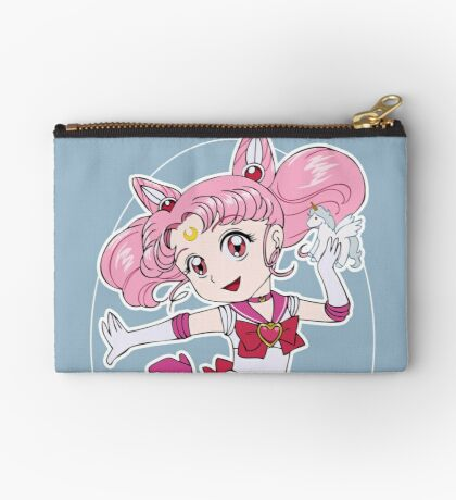 Chibi Moon and Pony Zipper Pouch