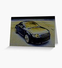 Audi TT Quattro Sport Coupe 2005 Greeting Card