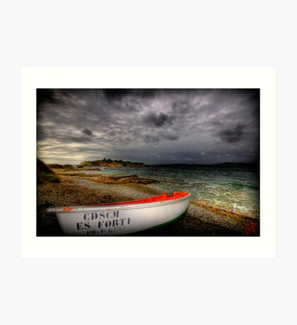 Little Row Boat 3 Art Print