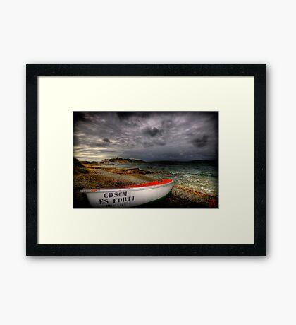 Little Row Boat 3 Framed Print