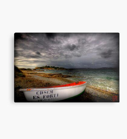 Little Row Boat 3 Metal Print