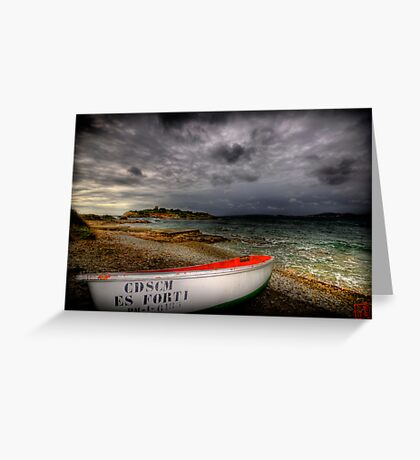 Little Row Boat 3 Greeting Card