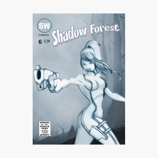 Shadow Forest Photographic Print