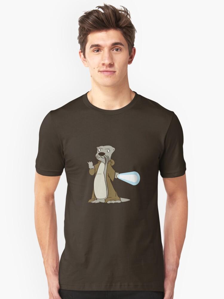 Otter-Wan Kenobi Unisex T-Shirt Front