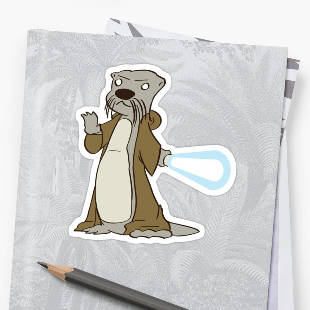 Otter-Wan Kenobi by Ray Merkler