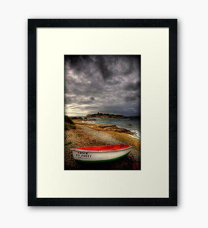Little Row Boat 2 Framed Print