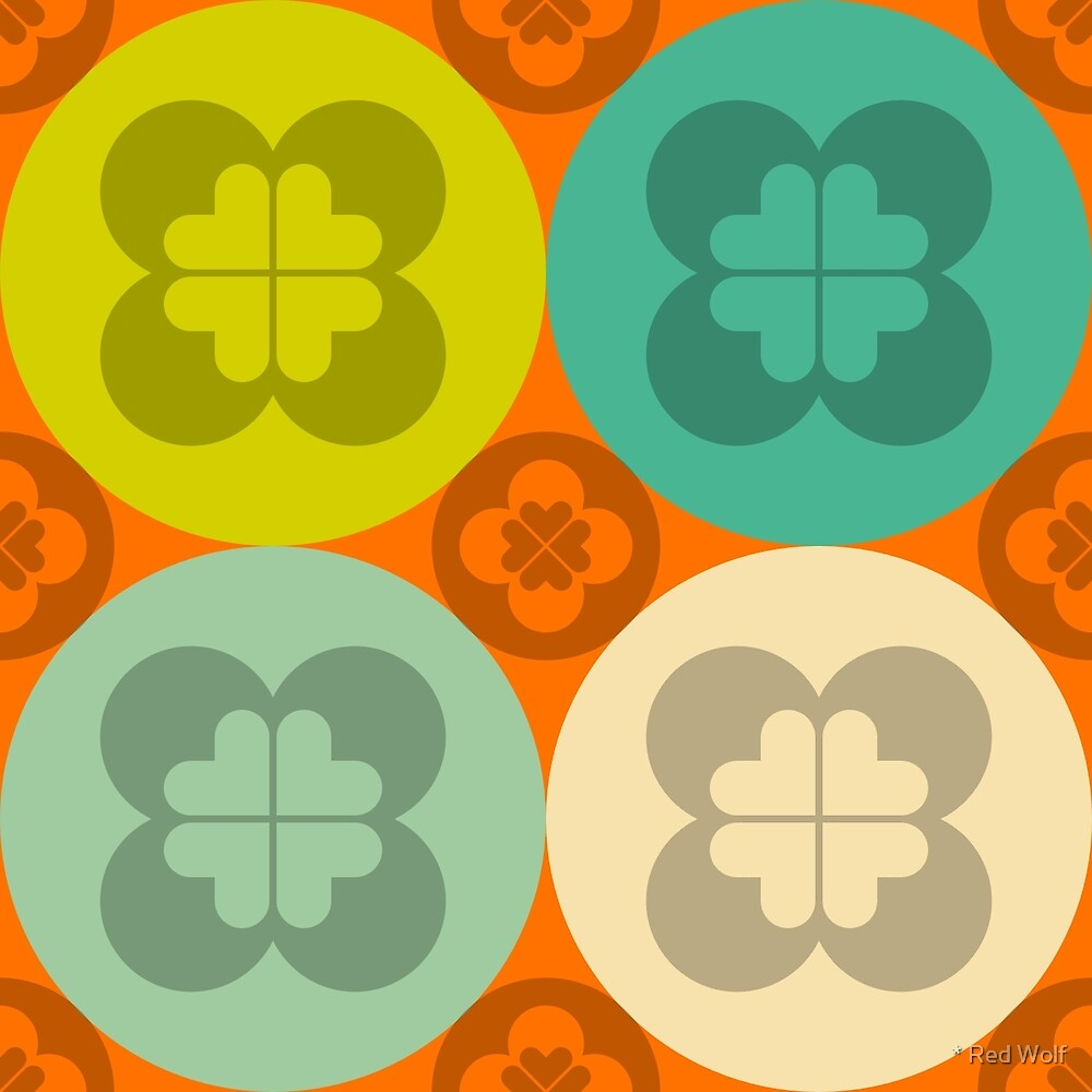Geometric Pattern: Flower Circle: Summer by * Red Wolf