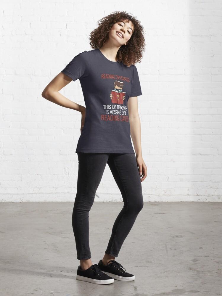 Alternative Ansicht von Reading Specialist Career - Bookworm Essential T-Shirt