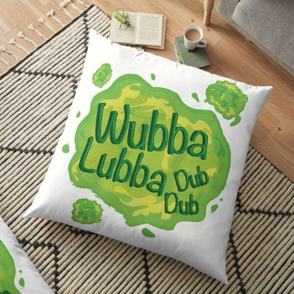 Wubba Lubba Dub Dub Portal from Rick and Morty (Fanart) Floor Pillow