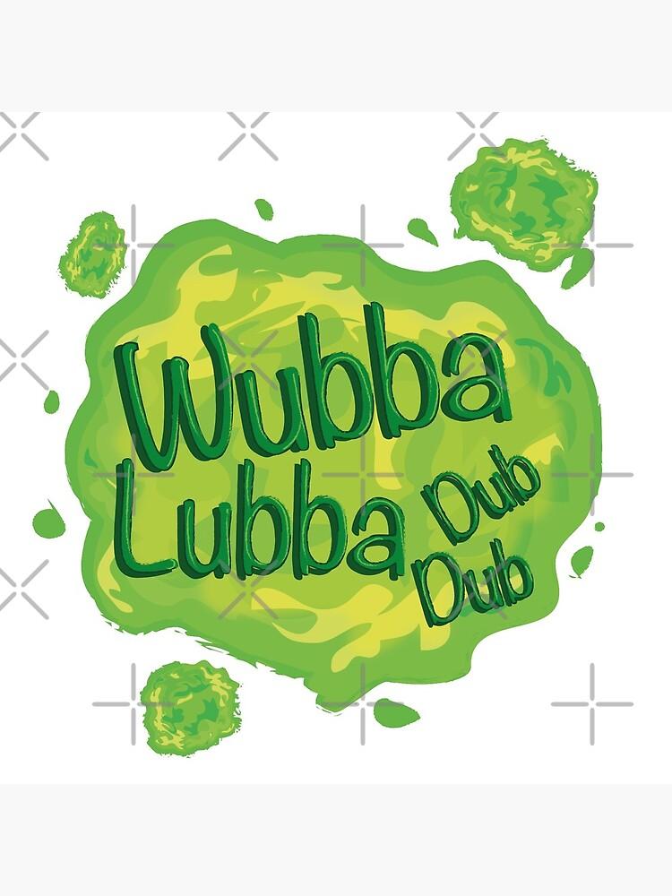 Wubba Lubba Dub Dub Portal from Rick and Morty (Fanart) by Lalingla