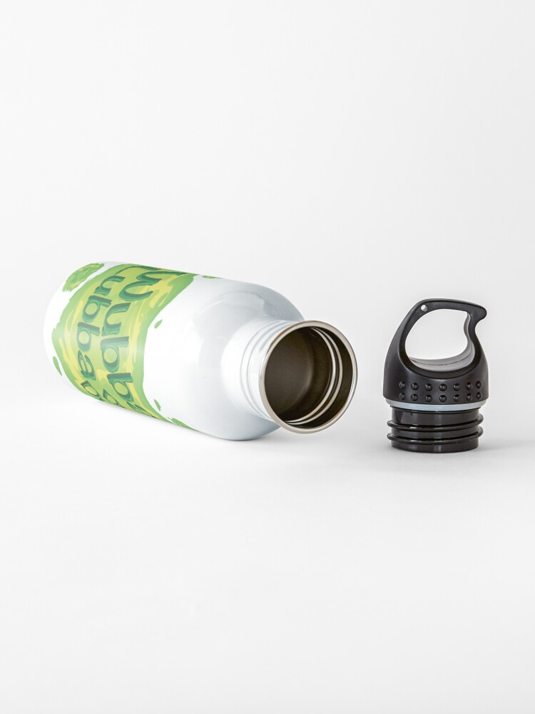 Alternate view of Wubba Lubba Dub Dub Portal from Rick and Morty (Fanart) Water Bottle