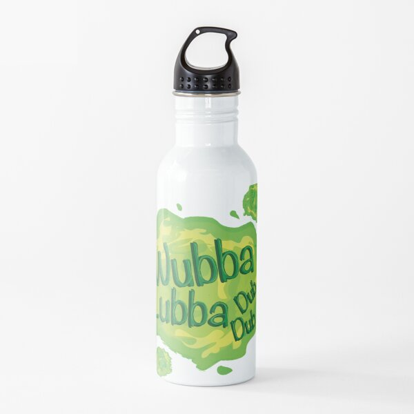 Wubba Lubba Dub Dub Portal from Rick and Morty (Fanart) Water Bottle