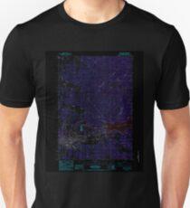 USGS Topo Map Oregon Sweet Home 281729 1984 24000 Inverted Unisex T-Shirt