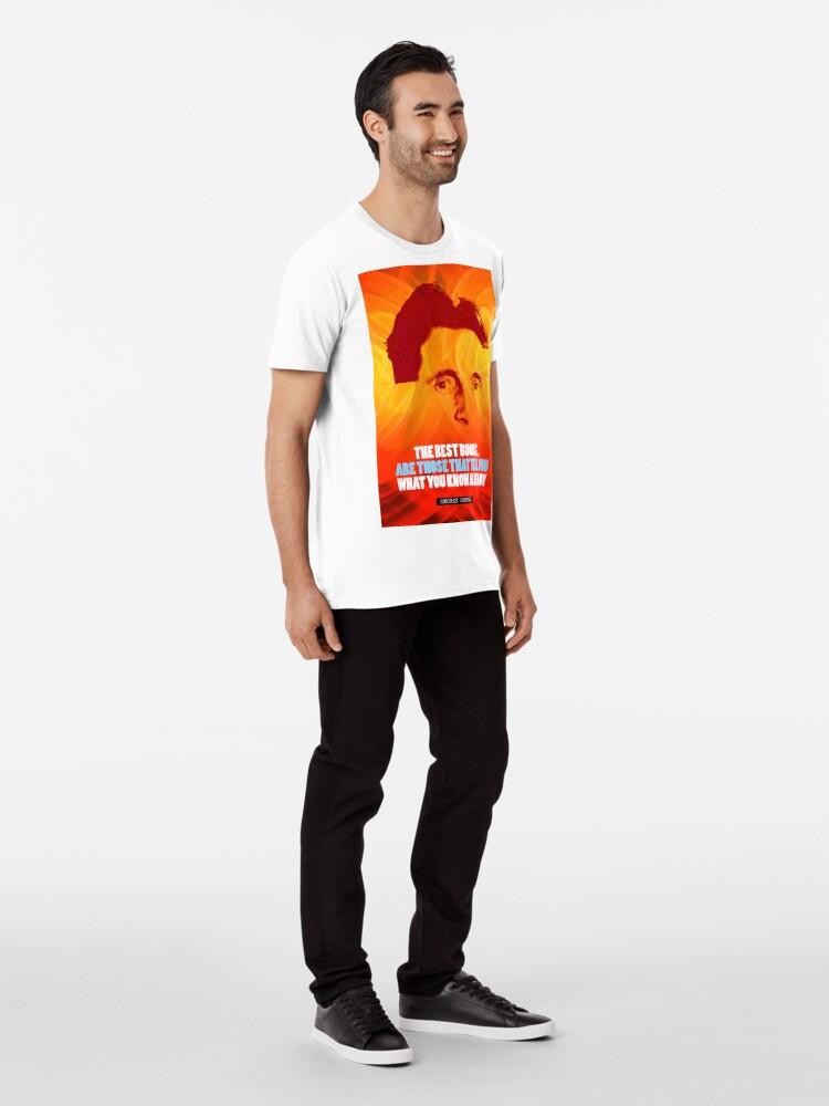 Alternate view of George Orwell Quote 2 Premium T-Shirt