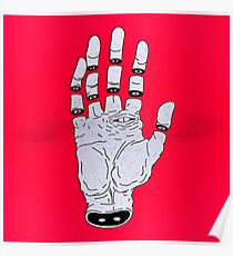 THE HAND OF ANOTHER DESTYNY Poster