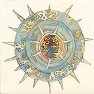 "sea-urchin, illustration of the story ""Ligea"" by vimasi"