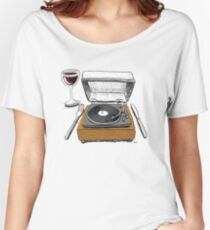 Dinner Music Women's Relaxed Fit T-Shirt
