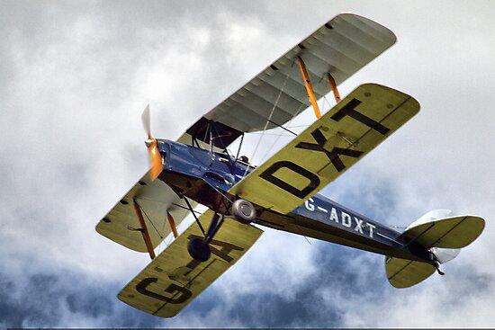 de Havillands D.H. 82 Tiger Moth by Clive